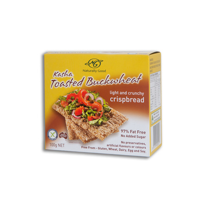 Naturally Good Kasha Toasted Buckwheat Crisps 100g