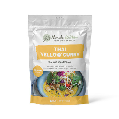 Nurcha Thai Yellow Curry for 2 725g