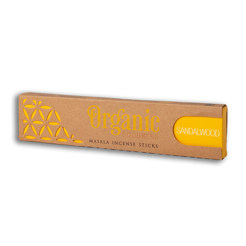 Organic Goodness Sandalwood Incense 15g