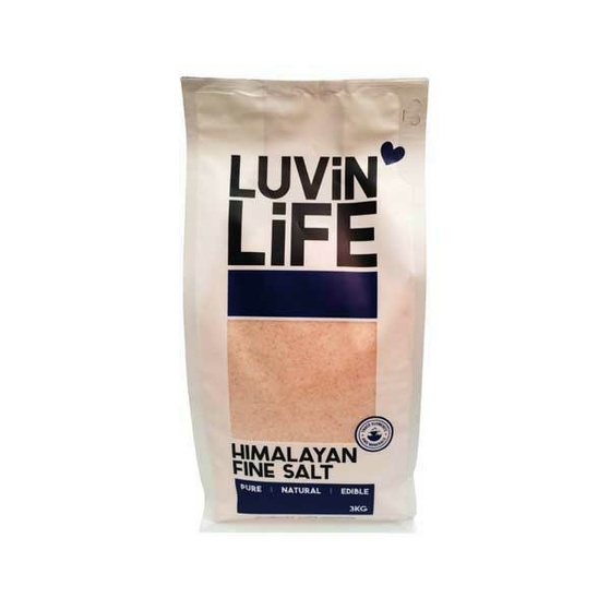 Himalayan Table Salt - Fine 3kg
